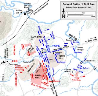 second battle of bull run wikipedia