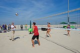 Secretary Kerry Plays with U.S. Women's Beach Volleyball Players (28700681912).jpg