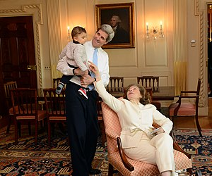 Teresa Heinz - Teresa Heinz Kerry and Secretary Kerry enjoy time with her grandson