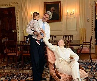 Teresa Heinz - Teresa Heinz Kerry and Secretary Kerry enjoy time with her grandson