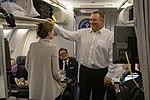 Secretary Pompeo Departs Joint Base Andrews En Route to Hanoi (46480662054).jpg