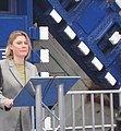 Secretary of State for Transport - Justine Greening - Crossrail Tunnel Boring Machine Launch - 13th March 2012.jpg