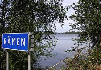 Lake Rämen - Lake Rämen towards northeast, 2007