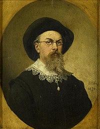 Self-Portrait by Hendrik Hollander Rijksmuseum Amsterdam SK-A-1489.jpg