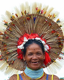Smile of Sikerei, a traditional healer from Mentawai, Indonesia. This image won the third prize in Wiki Cinta Budaya contest.