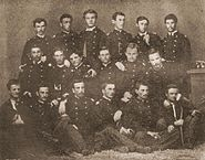 Serbian army Cadets class 1861-1866