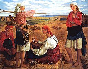 Zinaida Serebriakova - Harvest, 1915