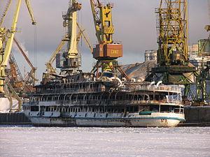 Sergey Abramov in North River Port 31-jan-2012 04.JPG