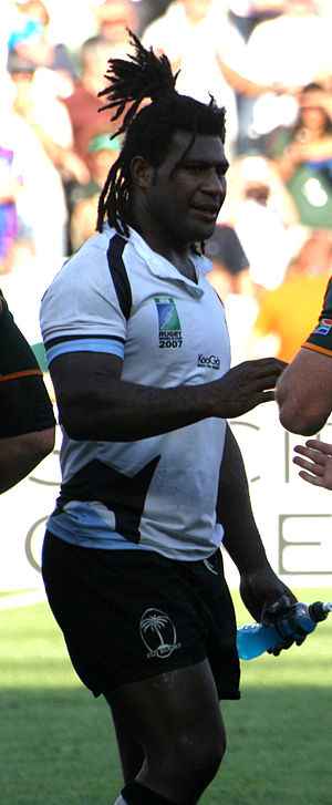 Seru Rabeni - South Africa vs Fiji during 2007 Rugby World Cup
