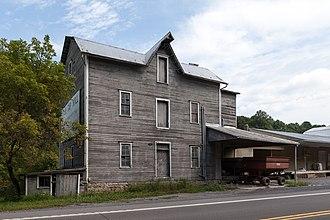 Dublin Township, Huntingdon County, Pennsylvania - Shade Gap Feed and Flour Mill