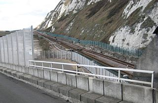 Shakespeare Cliff Halt railway station