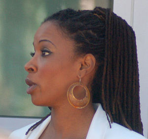 Shanola Hampton - Hampton in March 2012