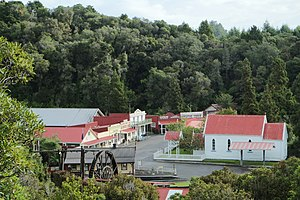 "Shantytown, New Zealand - ""Shantytown"" from lookout"