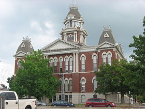 Shelby County, Illinois - Image: Shelby County Courthouse in Illinois