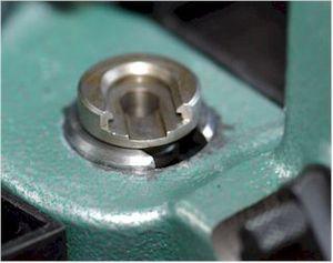 English: Shell holder for reloading tool. 日本語:...