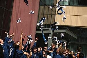 English: Students at Sheridan College