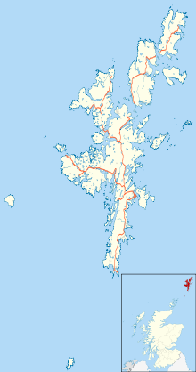 EGPB is located in Shetland