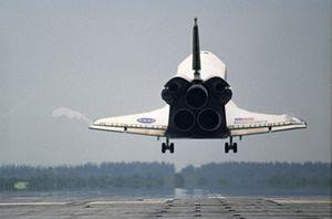 ShuttleDiscovery landing
