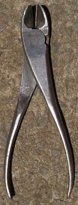 Pliers - Image: Side cutters