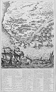 Siege de la Rochelle par louis XIII et Richelieu du 10 aout 1627 au 28 octobre 1628 planche 1 Jacques Callot 1592 1635