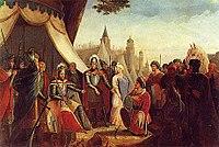 Siege of Lisbon - Muslim surrender.jpg