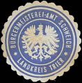 Siegelmarke Bürgermeisterei-Amt Schweich Landkreis Trier W0387031.jpg