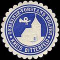 Siegelmarke Gemeinde-Vorstand Wolfen - Kreis Bitterfeld W0309499.jpg