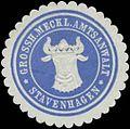 Siegelmarke Gr. Meckl. Amtsanwalt Stavenhagen W0363533.jpg