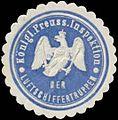 Siegelmarke K.Pr. Inspektion der Luftschiffertruppen W0370620.jpg