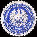 Siegelmarke K. Institut für Seeverkehr und Weltwirtschaft an der Universität Kiel-Kaiser Wilhelm Stiftung W0213239.jpg