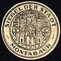 Siegelmarke Siegel der Stadt - Montabaur W0227849.jpg