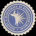 Siegelmarke Siegel des Magistrats zu Sternberg W0349278.jpg