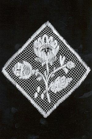 Valenciennes lace - Valenciennes bobbin lace (1850-1900), MoMu-collection, Antwerp