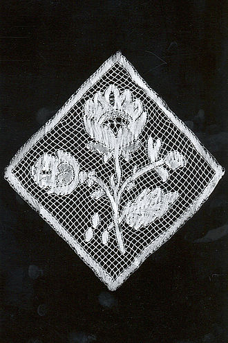 Valenciennes lace - Valenciennes bobbin lace (1850-1900), MoMu-collection, Antwerp