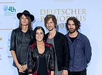 Silbermond - Deutscher Radiopreis Hamburg 2016 01.jpg