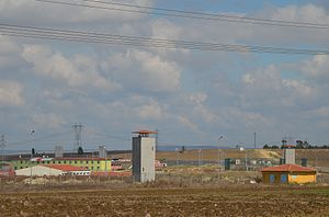 Silivri Prison - A view of Silivri Prison from outside.