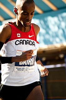 Simon Bairu Canadian long-distance runner