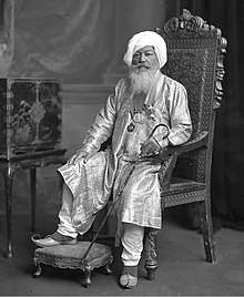 Sir Baba Khem Singh Beda (or Bedi) of Kullar (1830-1905)