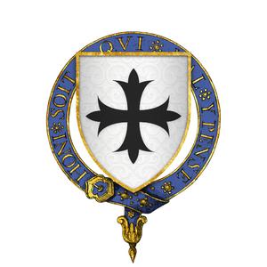 Thomas Banastre - Arms of Sir Thomas Banastre, KG