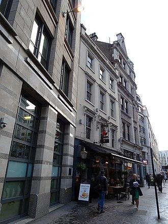 Aldersgate - Image: Site of Aldersgate Aldersgate Street London EC1A 4JA