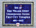 Site of King William Street Underground Station.jpg