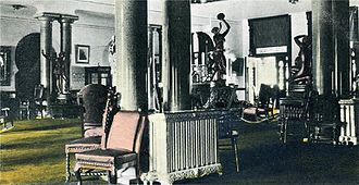 Henry B. Plant Museum - Hotel rotunda and sitting room in c. 1905