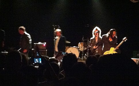 Sixto Rodriguez at San Francisco's 365 club September 29 2012 on stage 2.JPG