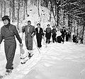 Skiing, excursion, skiing Fortepan 2994.jpg