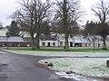 Skirling - houses across the village green - geograph.org.uk - 655917.jpg