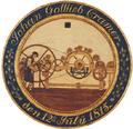 Skydeskive for Johan Gottlieb Cramer (1815).png