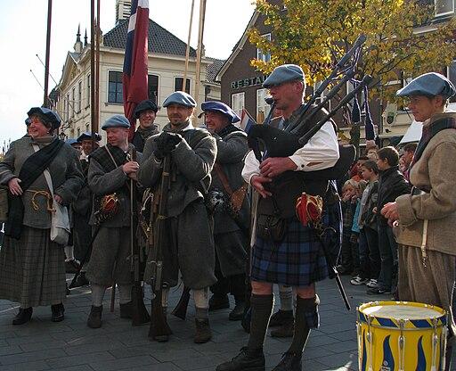 Slag om Grolle 2008-1 - Schotse troepen voor de slag