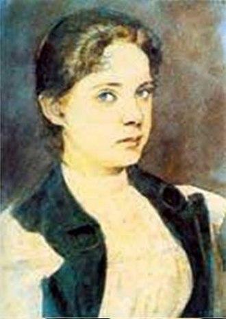 Slava Raškaj - Self-portrait (1898)