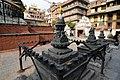 Smaller stupas (chaityas) around the Kathesimbhu stupa (17643581508).jpg