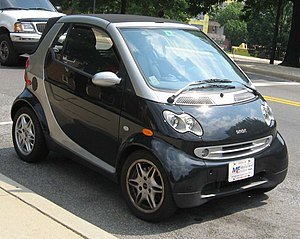 Smart ForTwo photographed in USA. Category:Sma...